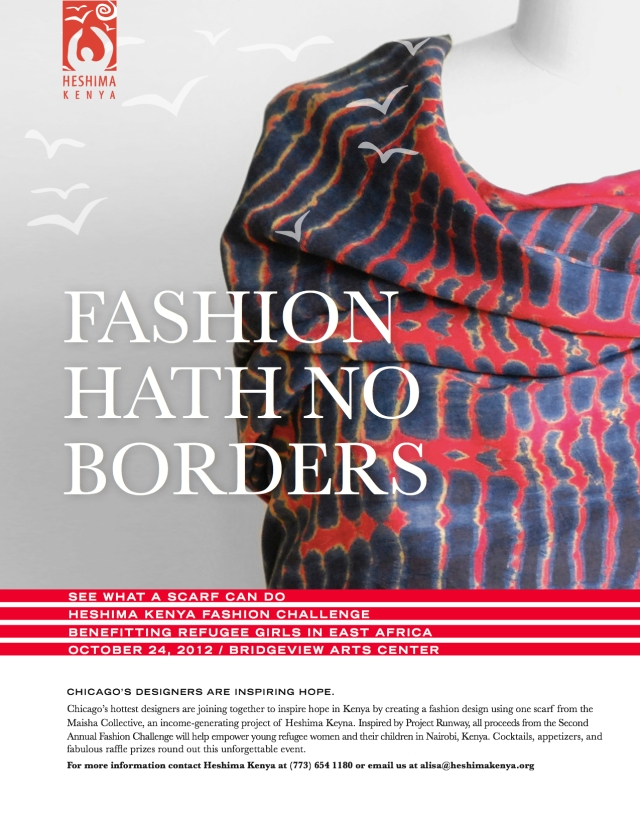 Heshima Kenya 2nd Annual Fashion Challenge, October 24th